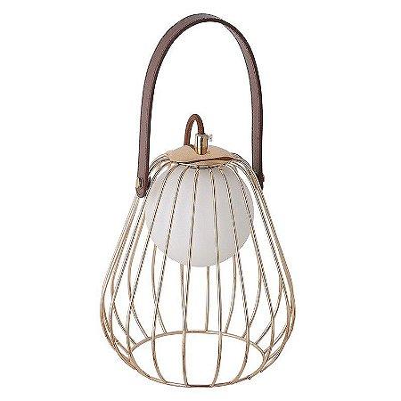 Abajur Lampada 22cm ML001G Bella