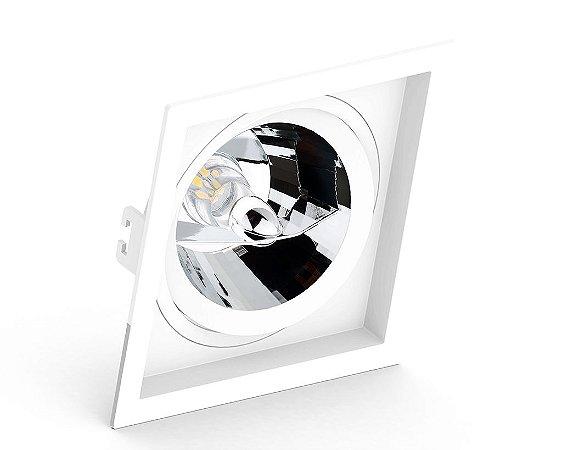 Spot de Embutir Quadrado Click para AR111 Save 330.1064