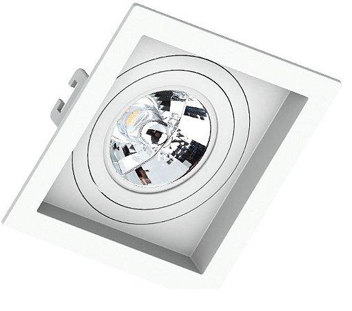 Spot de Embutir Quadrado Click para AR70 Save 330.1048