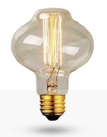 Lâmpada Filamento de Carbono 40W 220V BR85