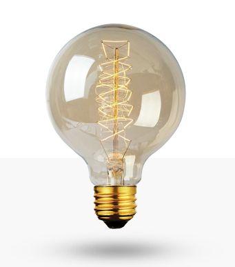 Lâmpada Filamento de Carbono 40W 220V G80