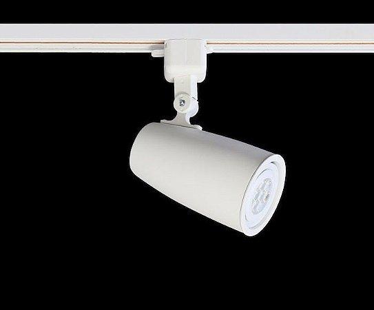 Spot para Trilho Eletrificado DUO PAR-20 E-27 Branco Mono