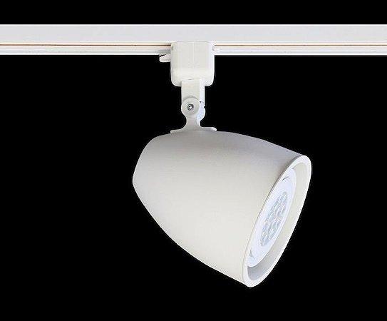 Spot para Trilho Eletrificado DUO PAR-30 E-27 Branco Mono
