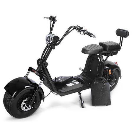 Moto Elétrica X7+ 1500W Preta