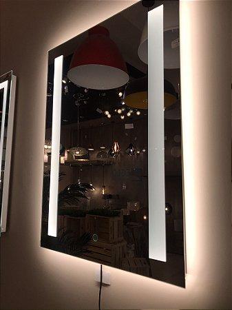 Espelho Retangular com Led 80x60CM Touch Dande