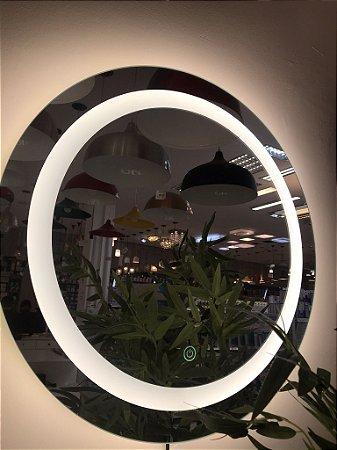 Espelho Redondo com Led 60CM Touch