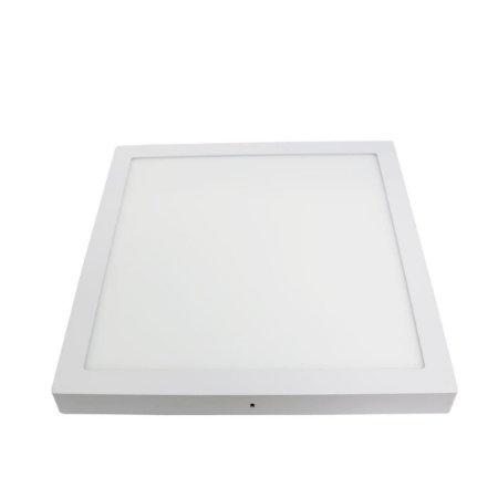 Placa de Led de Embutir Quadrada 36W 3000K Luz Amarela LZ28032