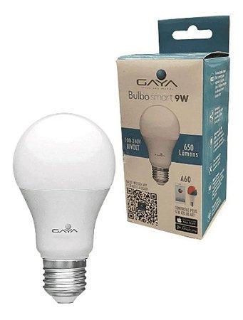 Lâmpada de Led Bulbo RGB 9W Smart Bivolt Gaya