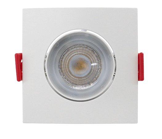 Spot de Embutir Quadrado Direcionável 3W 6500K Opus ECO 33006