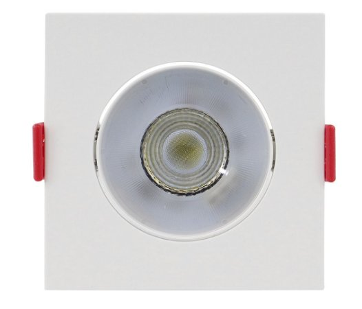 Spot de Embutir Quadrado Direcionável 5W 3000K Opus ECO 32702