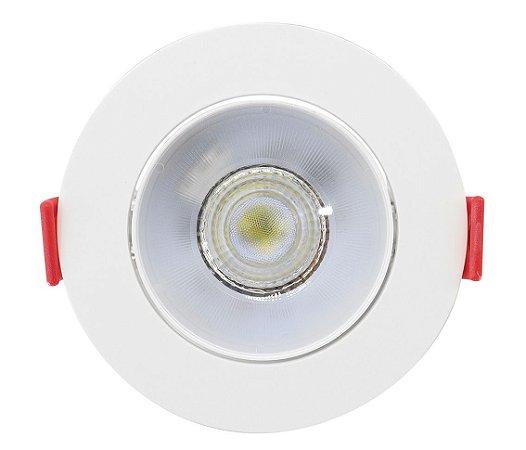 Spot de Embutir Redondo Direcionável 5W 3000K Opus ECO 32726