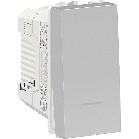 Interruptor Simples 10A 250V Aluminium Schneider Orion S70110174