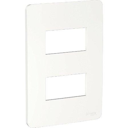 Placa 4x2 2 Postos Branco Schneider Orion S730121004