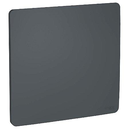 Placa Cega 4x4 Stellar Black Schneider Orion S730200294