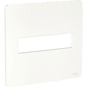 Placa 4x4 2 Postos Branco Schneider Orion S730201004