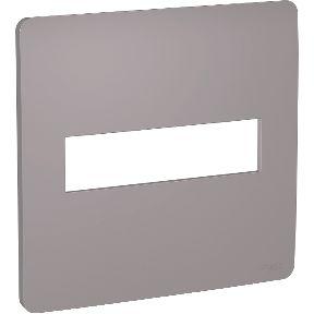 Placa 4x4 2 Postos Axis Grey Schneider Orion S730201224