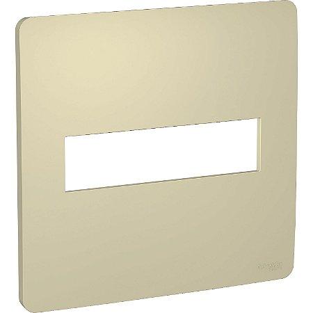 Placa 4x4 2 Postos Horizon Gold Schneider Orion S730201234