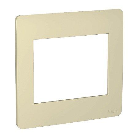 Placa 4x4 6 Postos Horizon Gold Schneider Orion S730203234