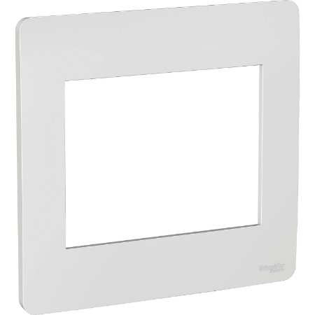 Placa 4x4 6 Postos Gamma Silver Schneider Orion S730203274
