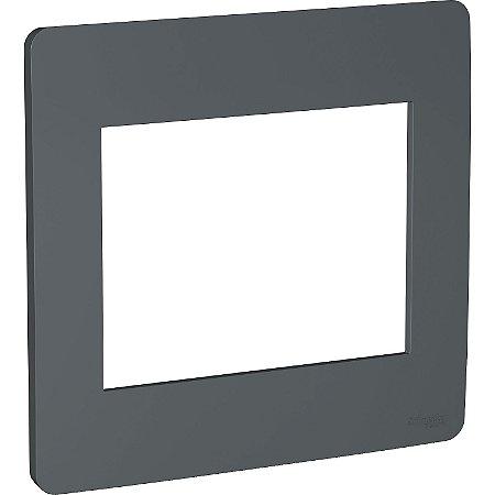 Placa 4x4 6 Postos Stellar Black Schneider Orion S730203294