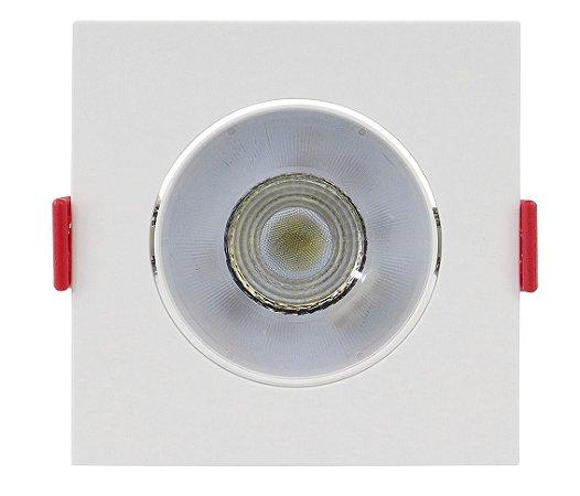 Spot de Embutir Quadrado Direcionável 5W 6500K Opus ECO 32719