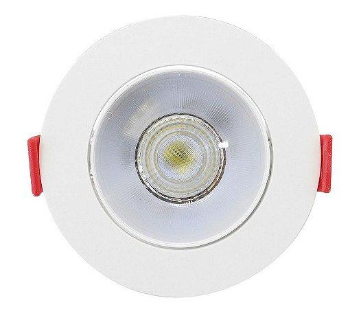 Spot de Embutir Redondo Direcionável 5W 4000K Luz Neutra Opus ECO 36045