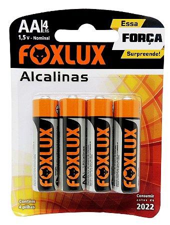 Pilha AA Alcalina Foxlux com 2 unidades 95.02