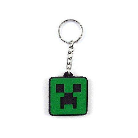 Chaveiro Minecraft Creeper