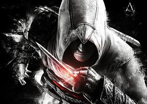 Placa decorativa Assassin's Creed