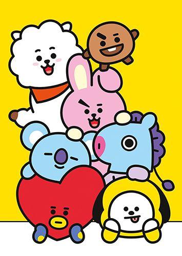 Placa decorativa BTS