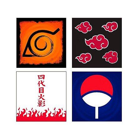 Porta Copos Naruto