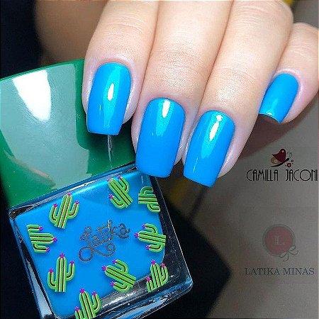 LATIKA - ESMALTE CACTUS BLUE LVY