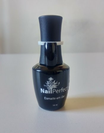 Esmalte em gel Nail perfect 14ml cor -  31 Black
