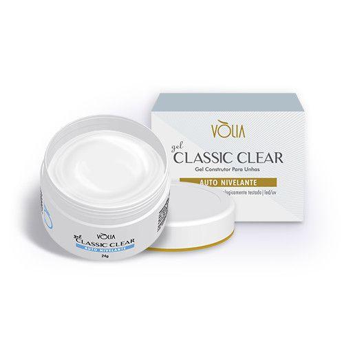 Gel Classic Clear Vólia - 24g