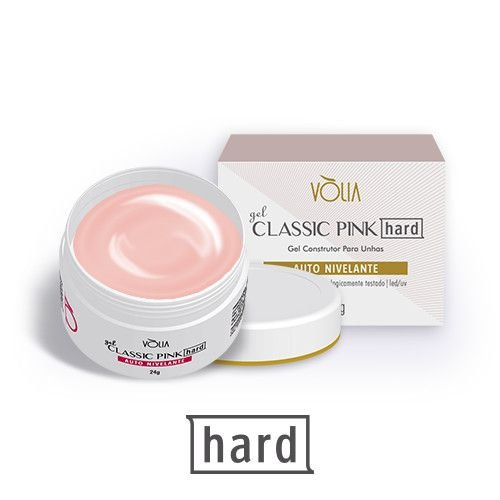 Gel Classic Pink HARD Vólia - 24g