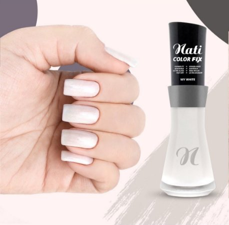 Nati Color Fix 8ml - Cor MY WHITE