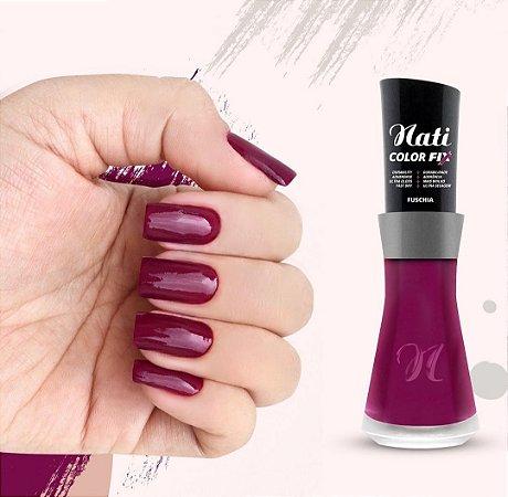 Nati Color Fix 8ml - Cor FUSCHIA