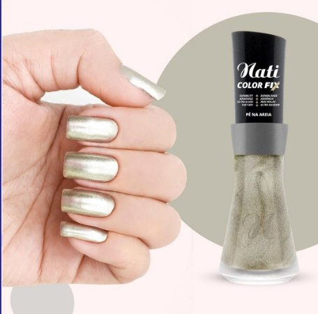 Nati Color Fix 8ml - Cor PÉ NA AREIA
