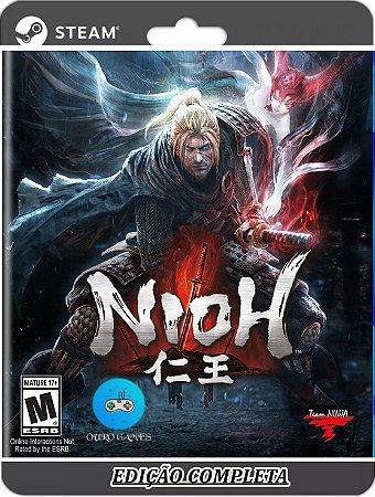 Nioh: Complete Edition Original Steam + Todas Dlcs