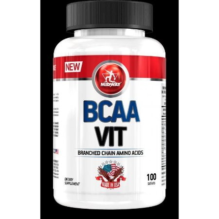 20412641b BCAA Vit MidWay 100 Caps - Lutha Produtos