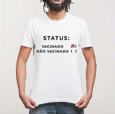 """Camiseta """"Vacinado!"""""""