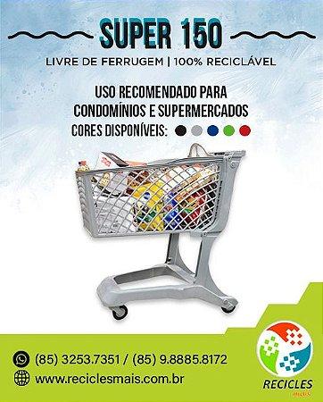 CARRINHO DE COMPRAS 150 Litros - SUPER 150