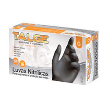 Luva Nitrílica Preta - Talge