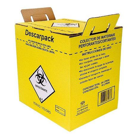 Caixa Coletora 20 Litros - Descarpack