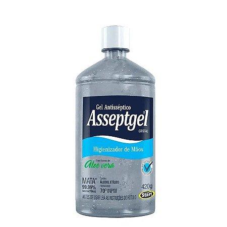 Álcool em Gel 70% - Aloe Vera - Asseptgel - 420G