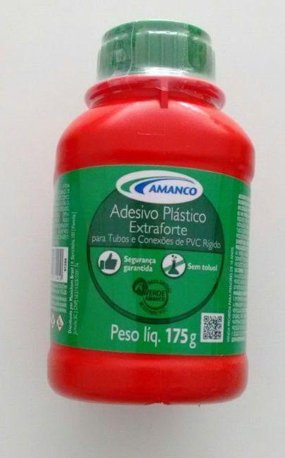 ADESIVO PLASTICO EXTRAFORTE 175 G AMANCO