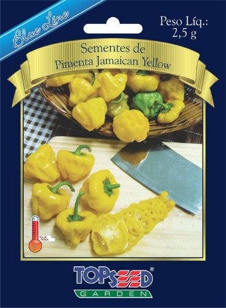 SEMENTES DE PIMENTA JAMAICAN YELLOW TOPSEED EV 2,5