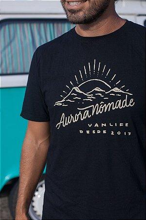 Camiseta Aurora Nômade Preta