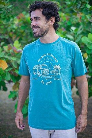 Camiseta Proibido Estacionar na Vida Verde