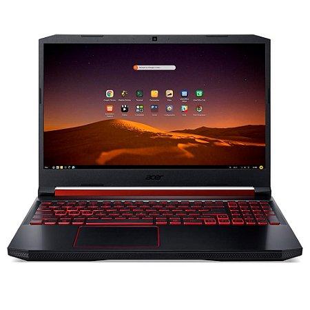 NOTEBOOK GAMER ACER ASPIRE NITRO 5 AMD RYZEN 5 -3550H, 8GB, SSD 256GB, NVIDIA GEFORCE GTX 1650 4GB, ENDLESS, 15.6´ - AN515-43-R9K7